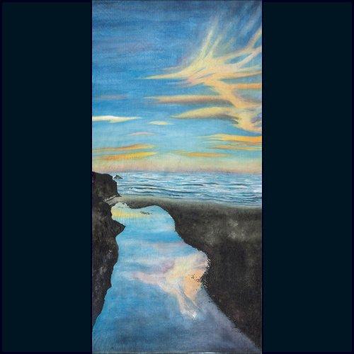 Reflection on Pudding Creek - Mendocino Coast
