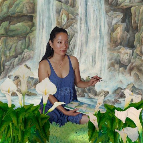 Calla Lilies and Waterfalls