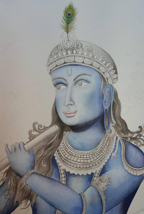 Rasa Prelude - Krishna Colored In